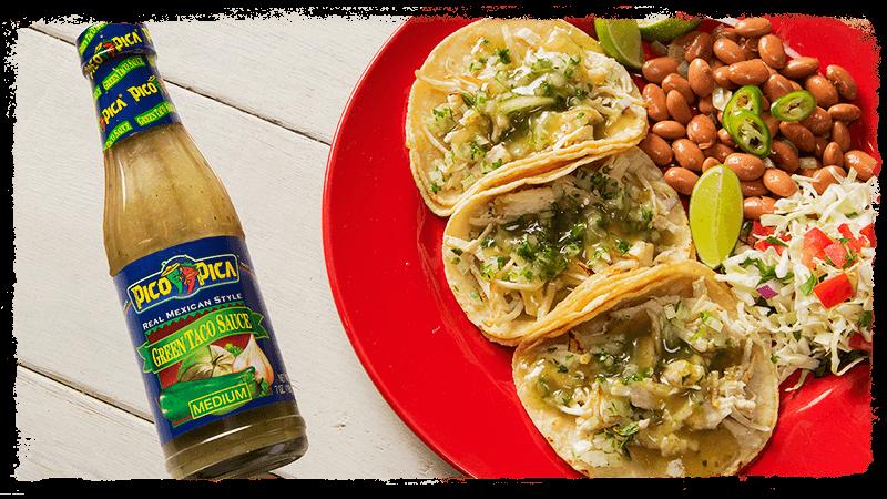 Pico Pica Green Taco Sauce Juanita S Foods