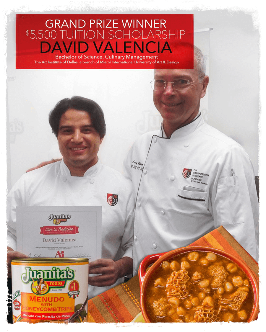David Valencia, AI winner in Vive la Tradición Contest