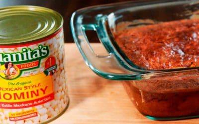 Hominy & Green Chile Cornbread